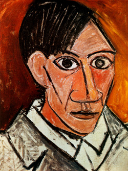 Pablo Picasso, Self Portrait