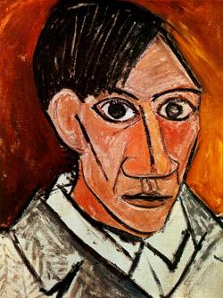 Pablo Picasso, Self Portrait