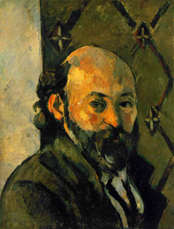Paul Cezanne, Self portrait